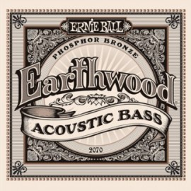Ernie Ball Acoustic Earthwood Phosphor Bronze Bass Strings