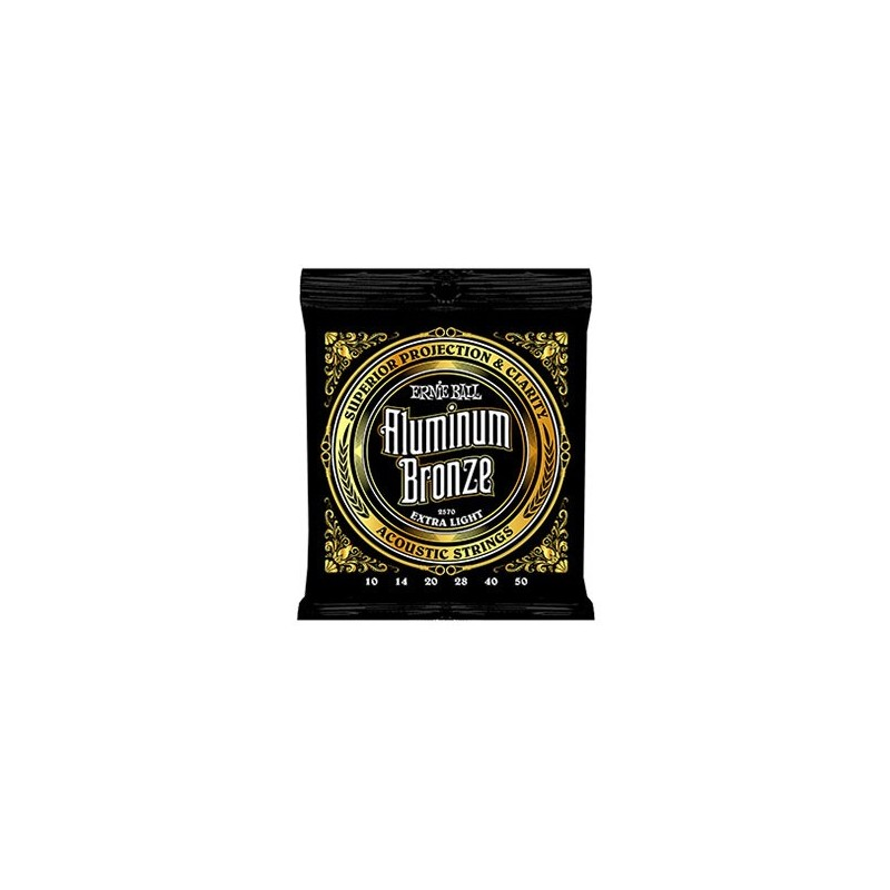 ernie ball aluminum bronze 10 50 extra light acoustic guitar string. Black Bedroom Furniture Sets. Home Design Ideas