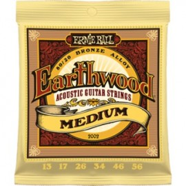 Ernie Ball Earthwood Medium Acoustic 80/20 Bronze Guitar Strings
