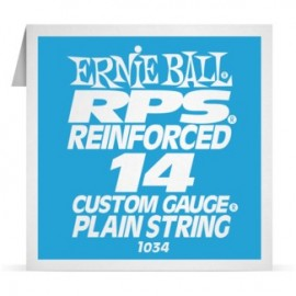 Ernie Ball P01034 RPS Reinforced .014 Plain Single Electric Guitar String