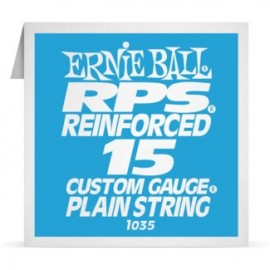 Ernie Ball P01035 RPS Reinforced .015 Plain Single Electric Guitar String