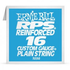 Ernie Ball P01036 RPS Reinforced .016 Plain Single Electric Guitar String