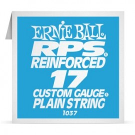 Ernie Ball P01037 RPS Reinforced .017 Plain Single Electric Guitar String