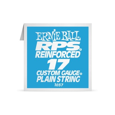 ernie ball single rps reinforced 017 plain steel electric guitar s. Black Bedroom Furniture Sets. Home Design Ideas