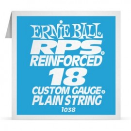 Ernie Ball P01038 RPS Reinforced .018 Plain Single Electric Guitar String