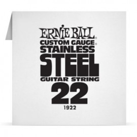 Ernie Ball Single .022 Stainless Steel Electric Guitar String P01922