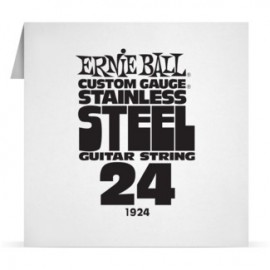 Ernie Ball Single .024 Stainless Steel Electric Guitar String P01924