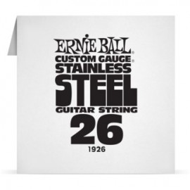 Ernie Ball Single .026 Stainless Steel Electric Guitar String P01926