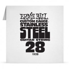 Ernie Ball Single .028 Stainless Steel Electric Guitar String P01928