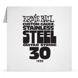 Ernie Ball Single .030 Stainless Steel Electric Guitar String P01930