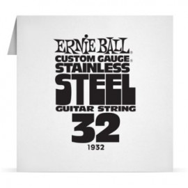 Ernie Ball Single .032 Stainless Steel Electric Guitar String P01932