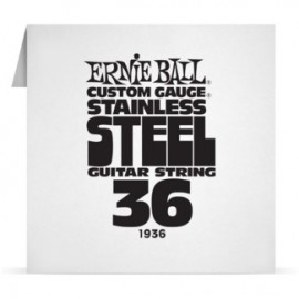 Ernie Ball Single .036 Stainless Steel Electric Guitar String P01936