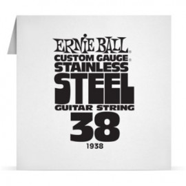 Ernie Ball Single .038 Stainless Steel Electric Guitar String P01938