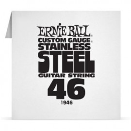 Ernie Ball Single .046 Stainless Steel Electric Guitar String P01946