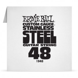 Ernie Ball Single .048 Stainless Steel Electric Guitar String P01948