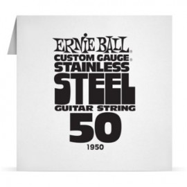 Ernie Ball Single .050 Stainless Steel Electric Guitar String P01950