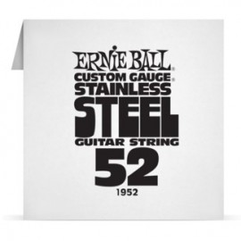 Ernie Ball Single .052 Stainless Steel Electric Guitar String P01952