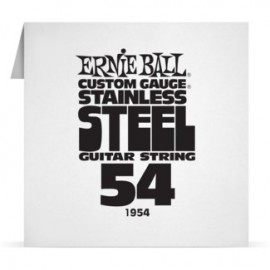 Ernie Ball Single .054 Stainless Steel Electric Guitar String P01954