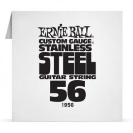 Ernie Ball P01956 Stainless Steel .056 Single Electric Guitar String