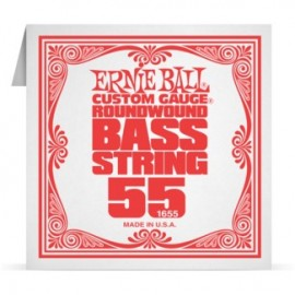 Ernie Ball P01655 Nickel Wound .055 Single Electric Bass String