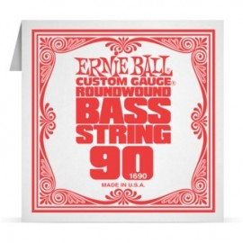 Ernie Ball P01690 Nickel Wound .090 Single Electric Bass String