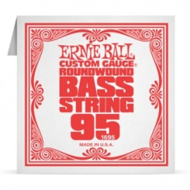 Ernie Ball P01695 Nickel Wound .095 Single Electric Bass String