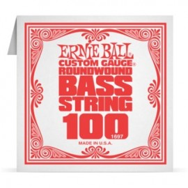 Ernie Ball P01697 Nickel Wound .100 Single Electric Bass String