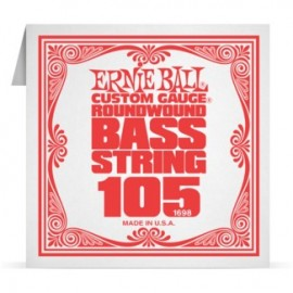 Ernie Ball P01698 Nickel Wound .105 Single Electric Bass String