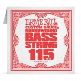Ernie Ball P01615 Nickel Wound .115 Single Electric Bass String