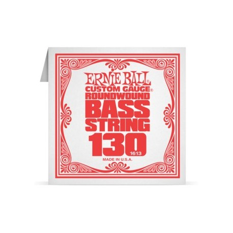 ernie ball 130 single nickel wound electric bass string 1613 bass. Black Bedroom Furniture Sets. Home Design Ideas