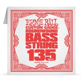 Ernie Ball P01614 Nickel Wound .135 Single Electric Bass String