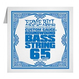 Ernie Ball Single Super Long Scale .065 Nickel Electric Bass String P10065