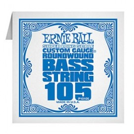 Ernie Ball Single Super Long Scale .105 Nickel Electric Bass String P10105