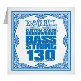 Ernie Ball Single Super Long Scale .130 Nickel Electric Bass String  P10130