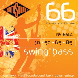Rotosound RS 66LA Swing Bass 66, Extra Light, Long Scale, 30 - 85