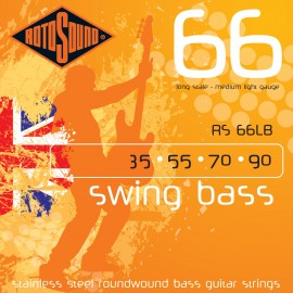 Rotosound RS 66LB Swing Bass 66, Medium Light, Long Scale, 35 - 90