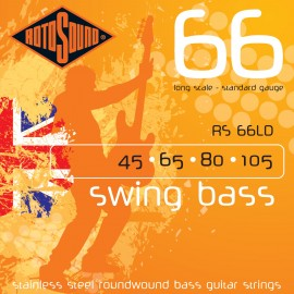 Rotosound RS 66LD Swing Bass 66, Standard Gauge, Long Scale, 45 - 105