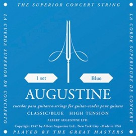 Augustine Classic Blue 28-45 High Tension Classical Guitar Strings ABL