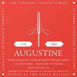 Augustine Classic Red '28 - 42.5' Medium Tension, Classical Guitar Strings