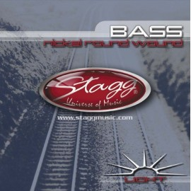 Stagg BA-4000 'Light Nickel Roundwound' 40 - 100 Bass Guitar Strings