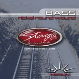 Stagg BA-4505 'Medium Nickel Roundwound' 45 - 105 Bass Guitar Strings