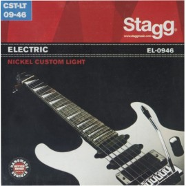 Stagg EL-0946 'Nickel Plated Steel' 09 - 46,  Custom Light Electric Guitar Strings