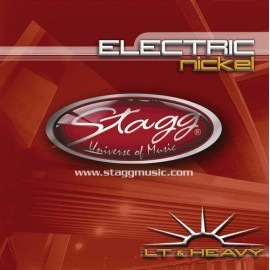 Stagg EL-1052 'Nickel Plated Steel' 10 - 52,  Light & Heavy Electric Guitar Strings