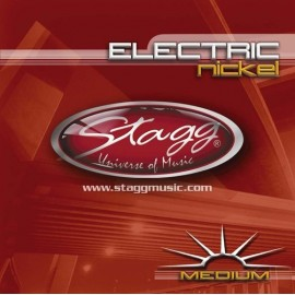 Stagg EL-1152 'Nickel Plated Steel' 11 - 52,  Medium Electric Guitar Strings