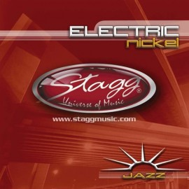 Stagg EL-1254 'Nickel Plated Steel' 12 - 54,  Jazz Electric Guitar Strings