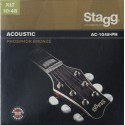 Stagg AC-1048-PH Extra Light Acoustic 10-48 Phosphor Bronze Acoustic Guitar Strings