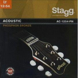 Stagg AC-1254-PH 'Light Acoustic' 12 - 54, Phosphor Bronze Acoustic Guitar Strings