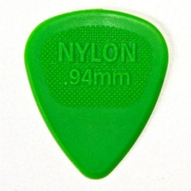 Jim Dunlop 443R94 Nylon Midi Green Guitar Pick .94mm