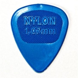 Jim Dunlop 443R107 Nylon Midi Blue Guitar Pick 1.07mm