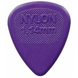 Jim Dunlop 443R114 Nylon Midi Purple Guitar Pick 1.14mm